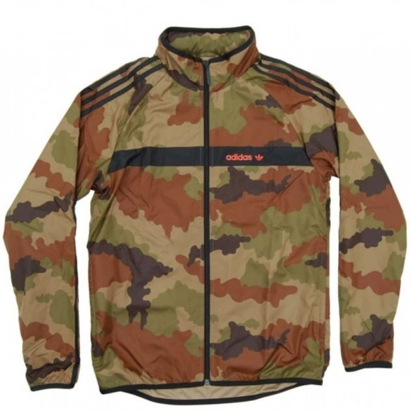 122576072b687 adidas Jackets & Coats | Originals Camo Marathon Windbreaker | Poshmark